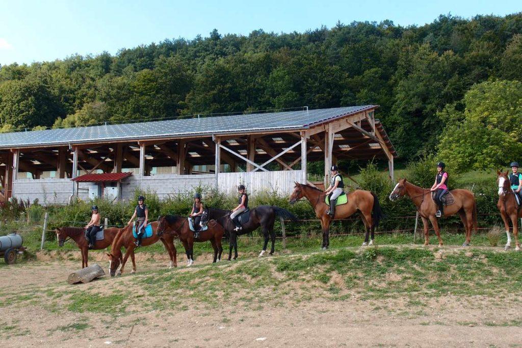 Ferme Equestre Zum Blaue